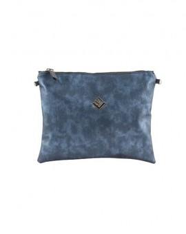 τσάντα ώμου-χειρός Luxurius Hobo Handbag Blue