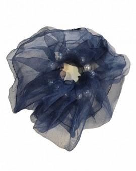 Μεγάλο scrunchie τούλι pearl
