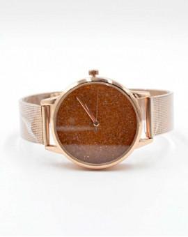 Γυναικείο ρολόι strassy gold