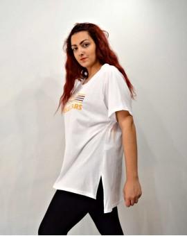 T-shirt με στρογγυλή λαιμόκοψη