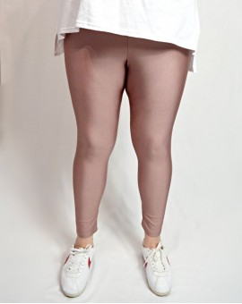 Glossy leggings dusty pink
