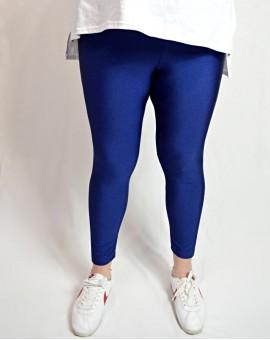 Glossy leggings blue