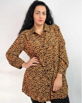 Πουκαμίσα animal print tamba