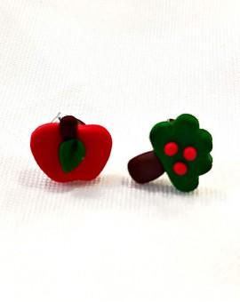 σκουλαρίκια apple tree