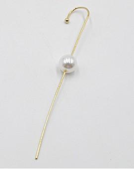 Σκουλαρίκι ear cuff pearl