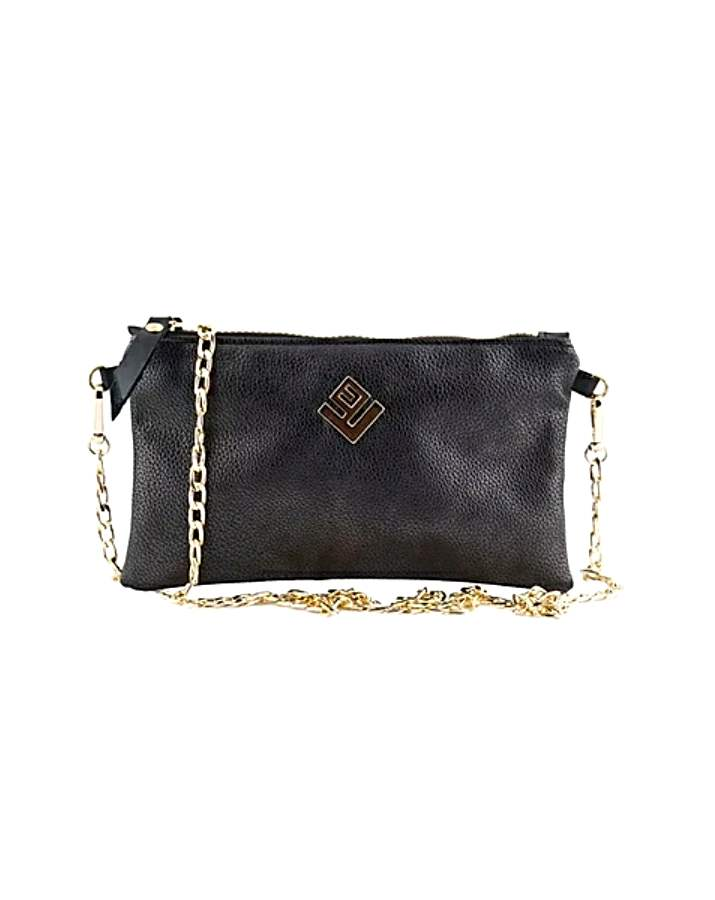 τσάντα ώμου Elegant Hobo Handbag Black