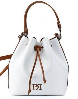 Γυναικεία Τσάντα πουγκί λευκό