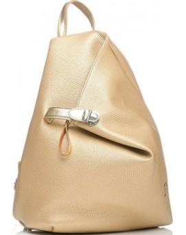 Χρυσό σακίδιο πλάτης Pierro Accessories TS144