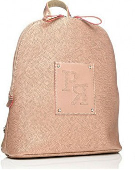Σακίδιο Πλάτης Pierro Accessories Ροζ Gold TS137