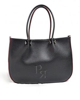 Τσάντα ΄Ωμου Μαύρη Pierro Accessories TS139